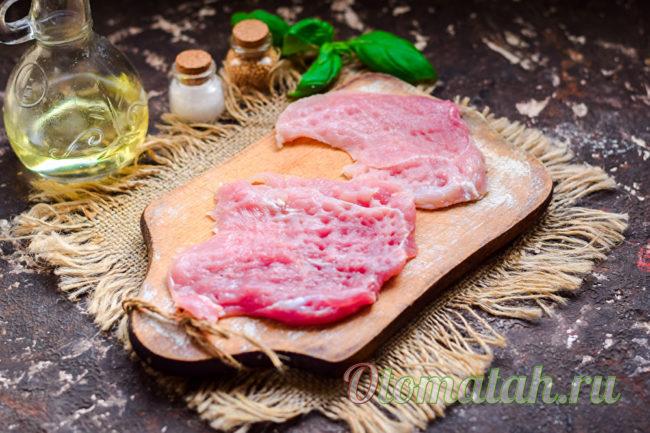 отбить мясо