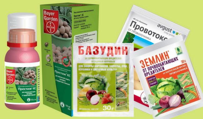 хим.препараты для борьбы с проволочником
