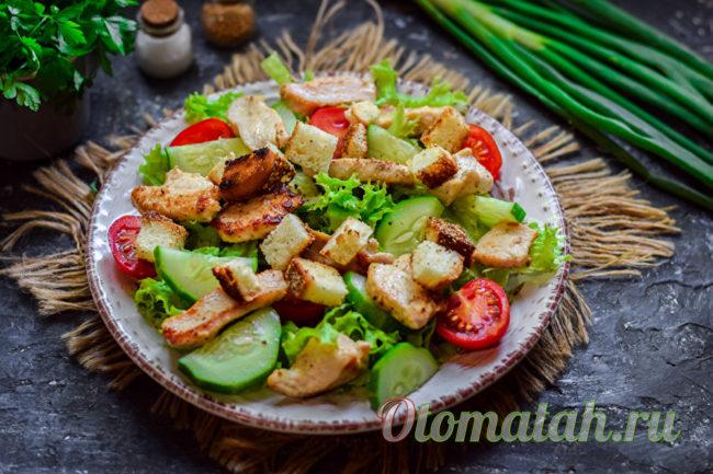 салат без заправки