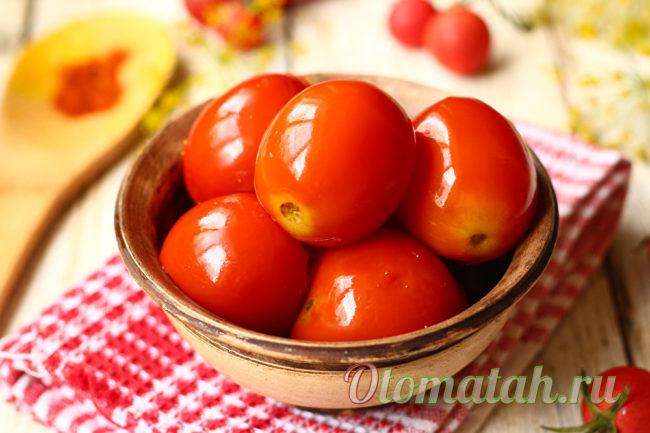 помидоры на зиму как бочковые