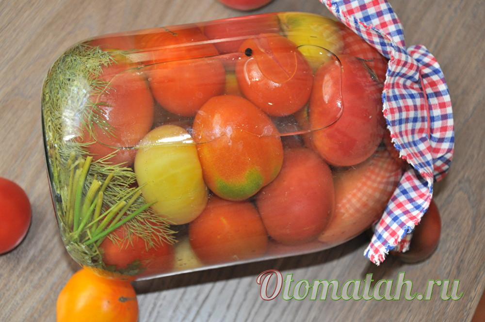 рецепт помидоров с аспирином