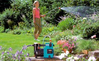 насос для полива огорода