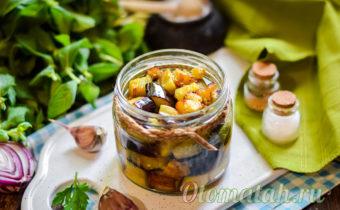 вкусные жаренные баклажаны