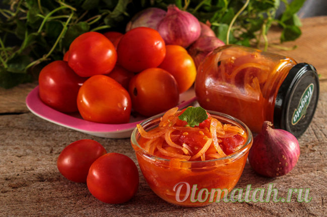 заготовка из помидоров