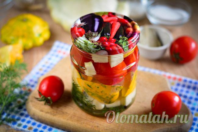 заготовка из овощей впрок