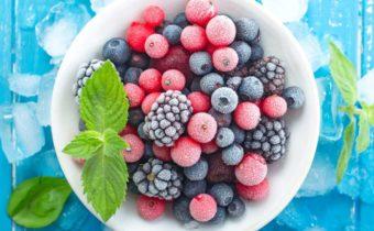 Свежезамороженные ягоды