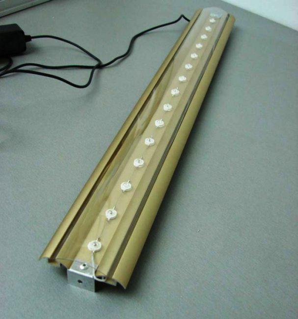 Система подключения светодиодной подсветки